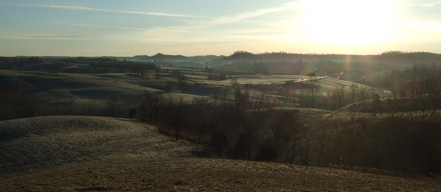 8.-A-Early-Mornings-View-Before-Field-Hunting-Over-Looking-The-Hills-Of-Casey-County-Kentucky-And-The-Head-Waters-Of-The-Green-River