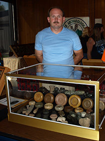 9.-Myself-And-A-Display-Personal-Collection-Relics-Set-Up-At-A-Recent-Local-Artifact-Gathering
